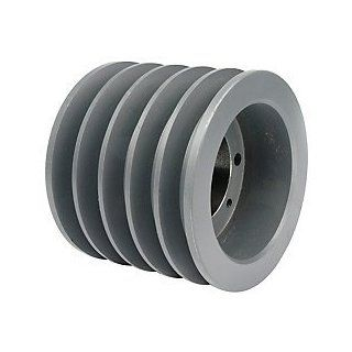 6.70 OD Five Groove Pulley / Sheave for 5V V Belt