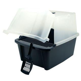 split Hood Cat Litter Box Hooded Litter Pan CLH 15S