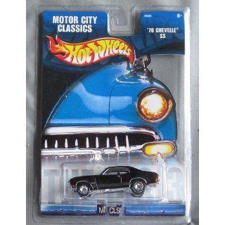 Hot Wheels Motor City Classics 70 Chevelle SS BLACK Toys & Games