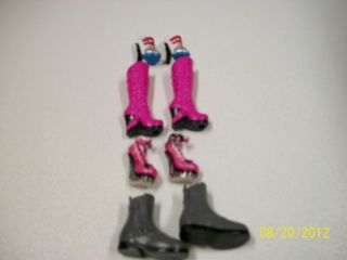 Monster High Shoes 4 Pairs