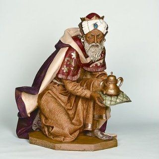 Fontanini 52316 50 Scale Standing King Balthazar Figurine