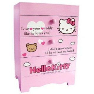Sanrio Hello Kitty Mini 3 drawer Desk Box Chest Organizer