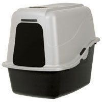 Large Petmate Basic Cat Kitty Hooded Litter Pan Set Box