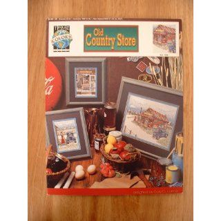 Old Country Store Cross Stitch Pattern Designed by Gary D. Hanner for