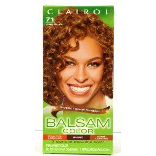 Clairol Balsam Hair Color, Honey Blonde (71), 2 pk Beauty