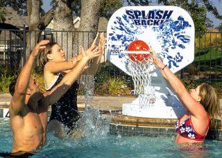 Splashback / Pro Rebounder Poolside Basketball Replacement Hoop & Net