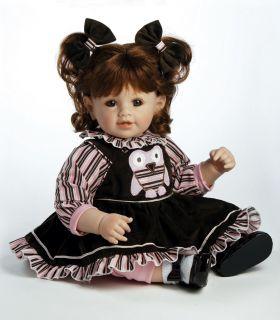 Hoot Owl Adora Vinyl Baby Girl Toddler Doll New 20 Auburn Hair So