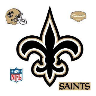 Fathead New Orleans Saints Logo Wall Decal Sports