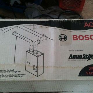 Kit Tankless Gas Water Heater Horizontal AQ3 Aquastar 250 SX