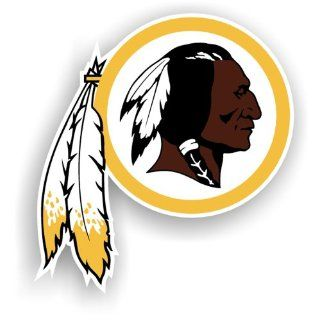 NFL Washington Redskins 12 Inch Vinyl Logo Magnet Sports