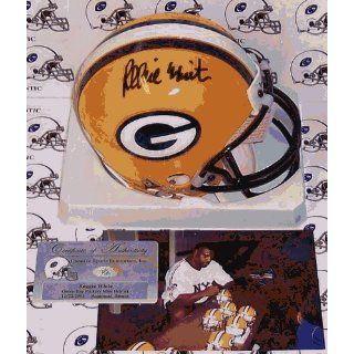 Reggie White Signed Mini Helmet   Riddell Sports
