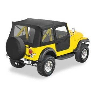 CJ7 Supertop Soft Top w Doors Kit 76 86 Tan    Automotive
