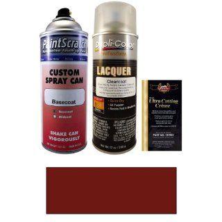 12.5 Oz. Desert Red Metallic Spray Can Paint Kit for 1985 Mercedes