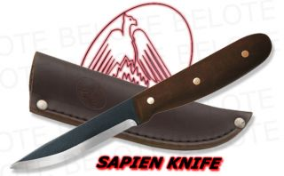 Condor Sapien Camp Knife w Leather Sheath CTK239 4HC