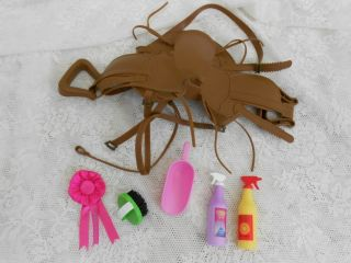 Battat Doll Horse Saddle Our Generation Horse Grooming Accessories