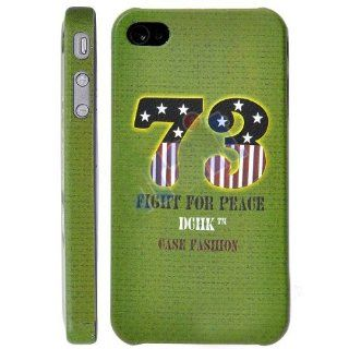 DCHK Peace War Stylish Case for iphone 4 Soldier, 73