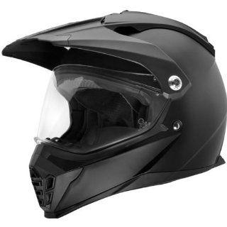 SparX Solid Nexus Dirt Bike Motorcycle Helmet   Matte Black / X Large