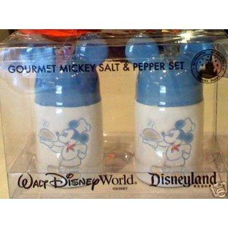 Disney Gourmet Mickey Mouse Ears Ceramic Salt & Pepper