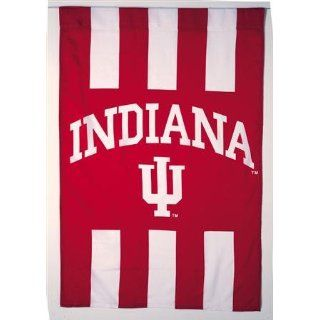 Indiana Hoosiers IU NCAA Screen Print Flag Sports
