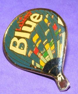 Hot Air Balloon Collectible Pin Labatts Blue