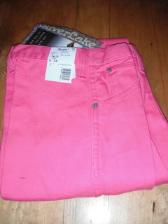 Wrangler Silverlake Hot Pink Classic Fit Bare Back Jeans 17MWZSP