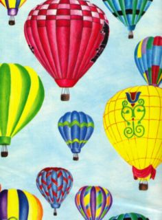 Hot Air Balloons Tissue Paper 10 Large Sheets