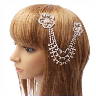 Both Tip Side Hair Combs Flower Style Hair Combs New