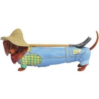 Hot Diggity Dachshund Dog Country Farmer or Gardener Figurine Westland