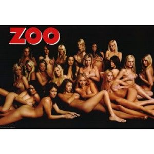 Hot Sexy Zoo Girls Naked Poster Print R564650