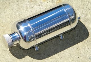 So Cal Overflow Tank Knurled Cap Hot Rod Rat Street Custom Old School