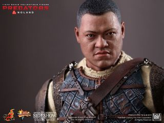 Hot Toys Predators Noland 12 Figure 1 6 Scale Laurence Fishburne