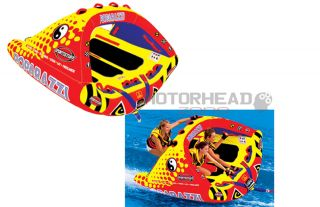 Airhead Kwik Tek SportsStuff Poparazzi Water Tube Towable Inflatable 3