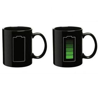 Magic Temperature Mug Cup Coffee Tea Hot Drink Coolest Cool Unique