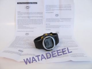 New Pulse Heart Rate Monitor Calories Counter Fitness Watch Black