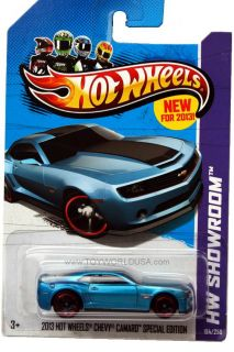 2013 Hot Wheels #194 HW Showroom 2013 Hot Wheels Chevy Camaro Special
