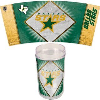 DALLAS STARS OFFICIAL 16OZ. NHL TUMBLER: Sports & Outdoors