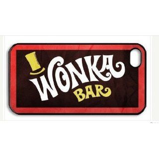 Personalized Willy Wonka Chocolate Bar iPhone 4 Case