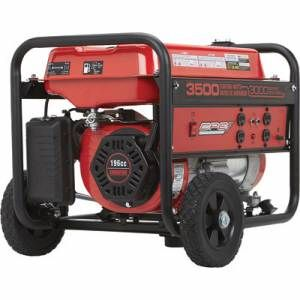 CPE 3500 Watt Gas Portable Generator w Wheel Kit Handle