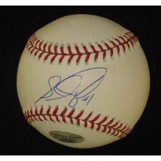 Louis Castillo Signed Mlb Baseball Psa Coa Mets