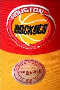 Mitchell Ness Houston Rockets Snapback Cap Hat Hakeem