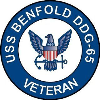 US Navy USS Benfold DDG 65 Ship Veteran Decal Sticker 5.5