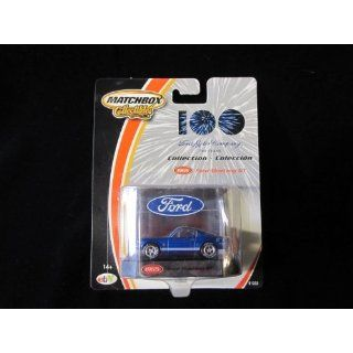 1965 Ford Mustang GT Blue Matchbox 100 Yr Ford Motor Co