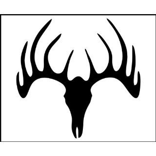 8 Vinyl Decal   Hunting / Outdoors   Deer Skull   Truck