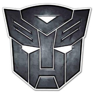 Autobot insignia Transformers bumper sticker 4 x 4 :