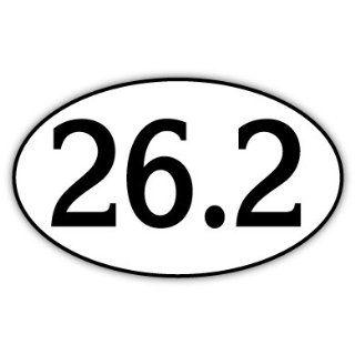 26.2 Marathon Vinyl Car Bumper Sticker Decal 5 X 3