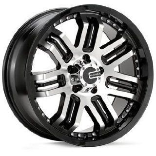 Mamba M3 18x9 Black Wheel / Rim 5x4.5 with a 25mm Offset and a 83.40