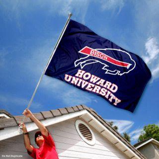 Howard University Bison Flag Large 3x5