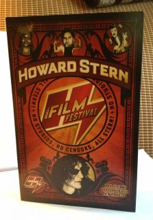2006 Howard Stern Film Festival Mint Condition Event Program