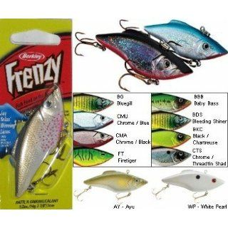Berkley Frenzy 1/2 oz. RATTLR Sinking Lure   White