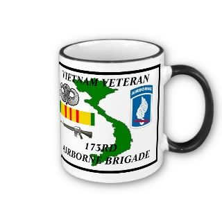 173rd Airborne Brigade Vietnam Veteran Coffee Mug